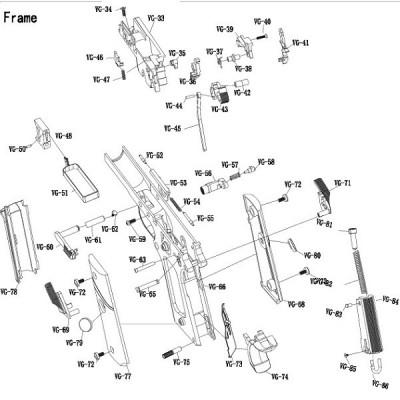Set goma para TM 1911