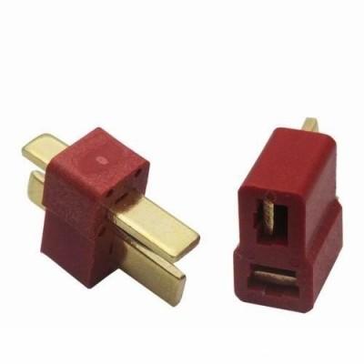 conector T plug 5 unidades
