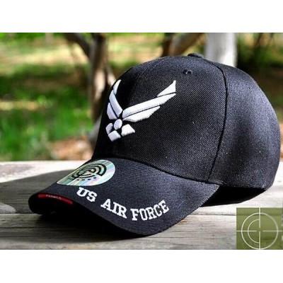 Gorra beisbol AIR FORCE negro