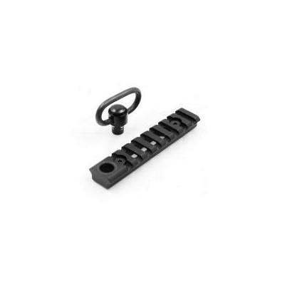 Rail keymod con QD Sling