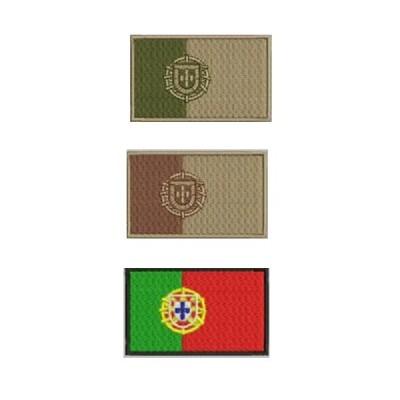 Parche Bandera de Portugal tan