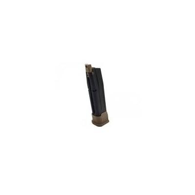 Cargador Gas F17 MAG - TAN