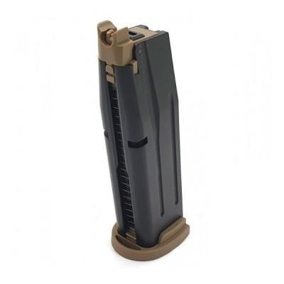 Cargador Gas F18 MAG - TAN
